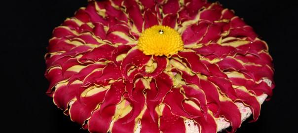 Curso de ramos de novia en Flores El Calé (I parte): Rosmelias