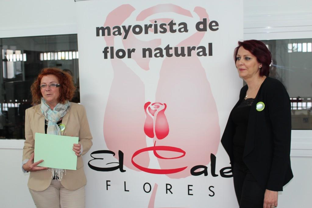 Rosa Moreno y Sonia Teso, de la escuela Deflorarts