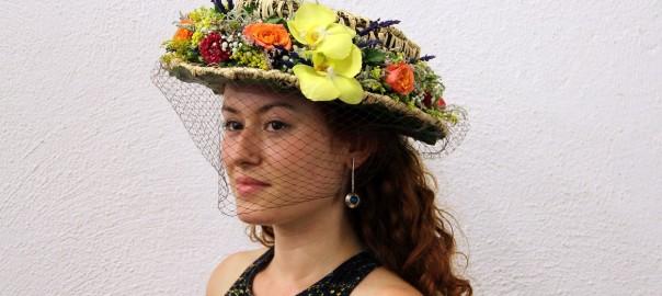 Sombreros florales, nuevos territorios para el florista