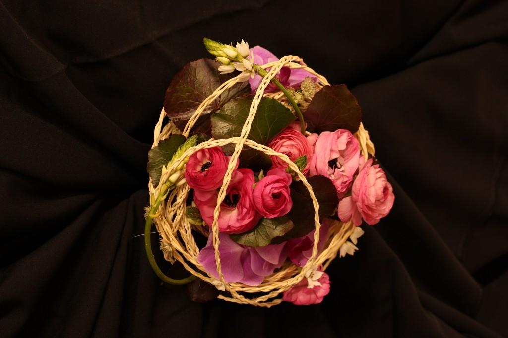 Ramo de novia circular