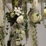 Decoración Árbol Blanco, detalle