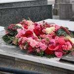 Composición funeraria para panteón