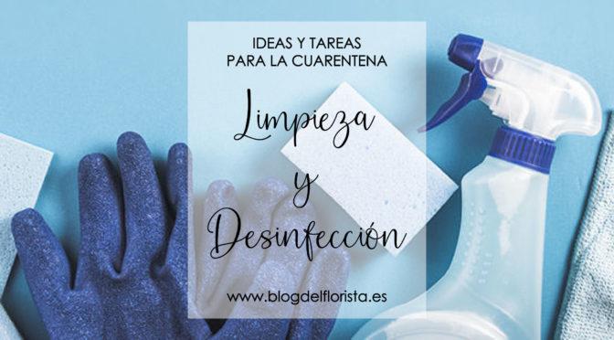 LIMPIEZA Y DESINFECCIÓN DE                     CÁMARAS PARA FLORES