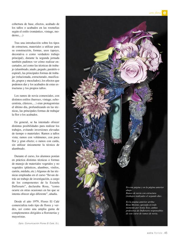 extraFlorista nº 146, pág. 45. Verdiland Ediciones, SL