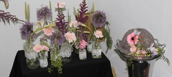 Bodegones y Joyas Florales. Curso de Pilar Arriaga en Flores El Calé