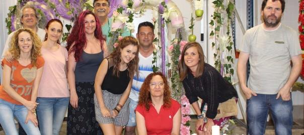 'Especial Bodas – Eventos Florales', curso de Kike León en Flores El Calé
