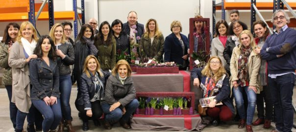 Asociación de Floristas de Albacete, Master Class con Juan Chamorro